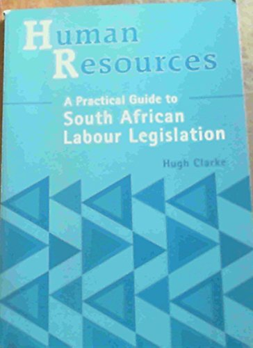 9781868912810: Human Resources Supplement
