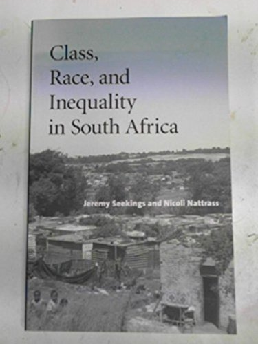 9781869141059: Class, race, and inequality in South Africa