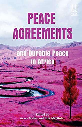 9781869143060: Peace Agreements and Durable Peace in Africa