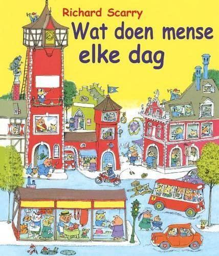 9781869192518: Wat Doen Mense Elke Dag? (Afrikaans Edition)