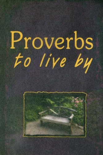 9781869200640: Proverbs to Live By