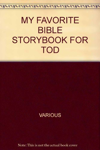 9781869201708: My Favorite Bible Storybook for Toddlers