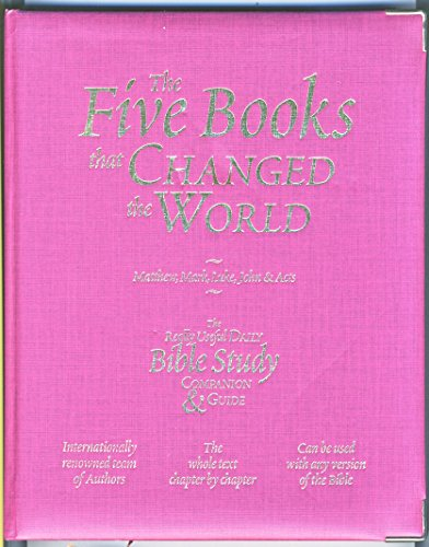 9781869203993: The Five Books That Changed the World - the Really Useful Daily Bible Study Companion and Guide