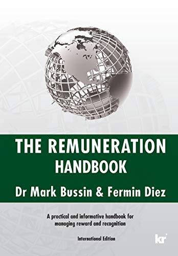 The Remuneration Handbook (International Edition): Mark Bussin