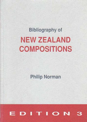 9781869350512: Bibliography of New Zealand compositions
