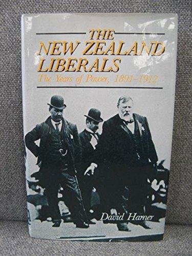 The New Zealand Liberals: Hamer, David