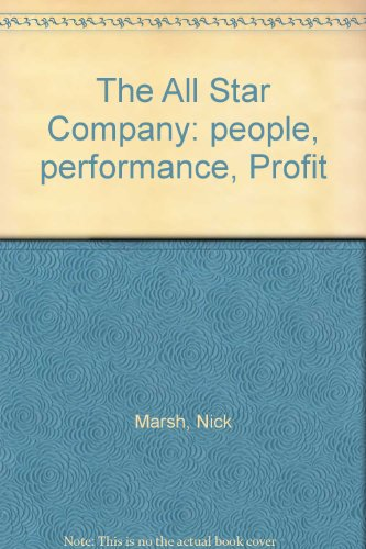 9781869411978: The All Star Company: people, performance, Profit