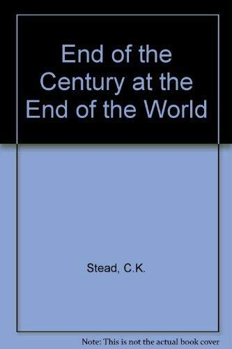9781869502997: The End of the Century at the End of the World