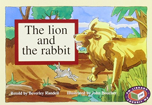9781869555894: The Lion and the Rabbit PM Blue Set 1 Level 9