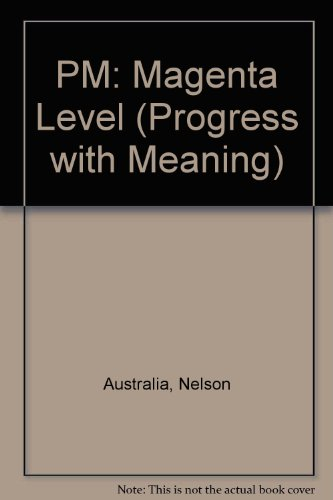 9781869556433: PM: Magenta Level (Progress with Meaning)