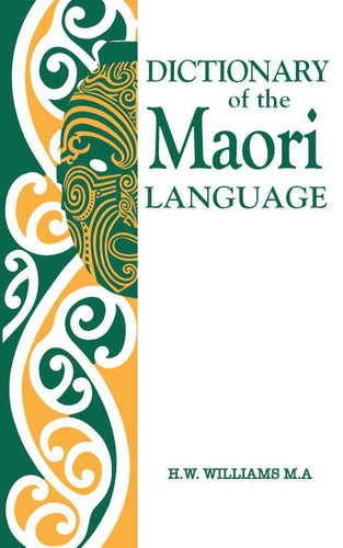 9781869560454: A Dictionary of the Maori Language (Maori Edition)