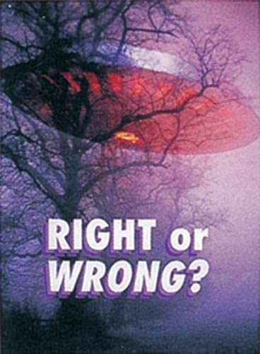 9781869599300: Right or Wrong? (Wildcats)