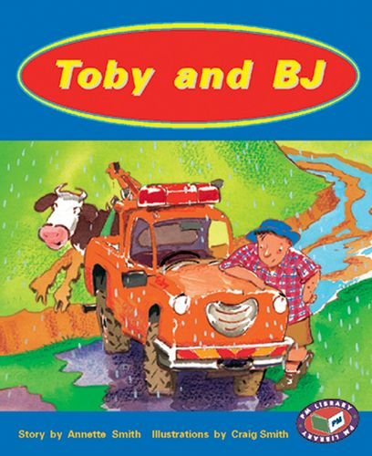 9781869610166: Toby and BJ PM Level 15 Set A Orange