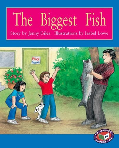9781869610197: The Biggest Fish PM Level 15 Set A Orange