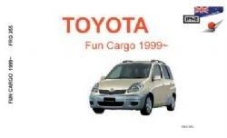 9781869760298: Toyota Fun Cargo 1999: Owners Handbook