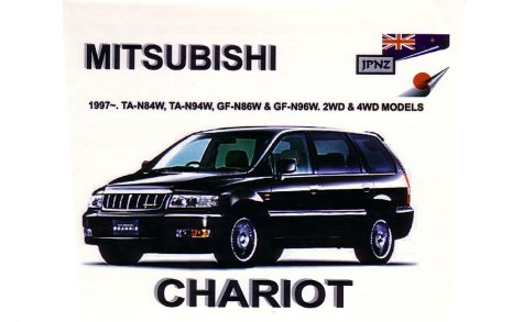 9781869760748: Mitsubishi Chariot 97-02 Owners Handbook