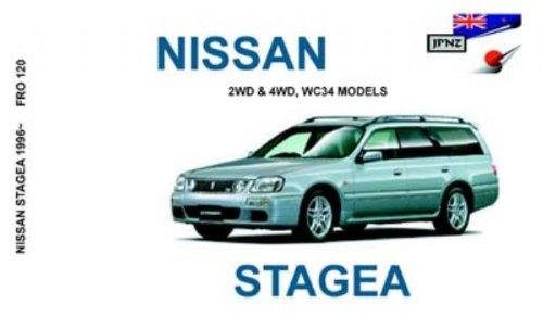 9781869761103: Nissan Stagea 1996 Owners Handbook