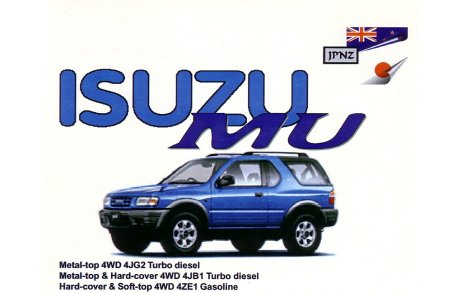 9781869761424: Isuzu Mu 91-96 Owners Handbook