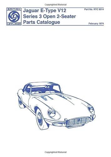 Jaguar E-Type V12 Ser 3 Parts Catalog (Official Parts Catalogue): Brooklands Books Ltd
