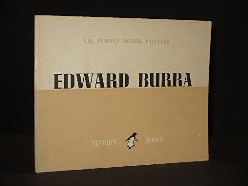 9781869827106: The Penguin Modern Painters: Edward Burra