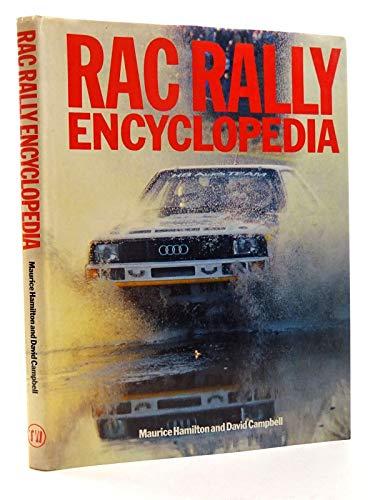 9781869833107: RAC Rally Encyclopedia