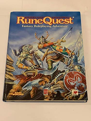 9781869893057: Runequest Roleplaying Game, 3rd Edition