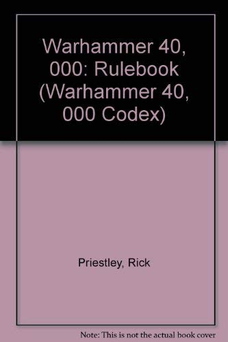 9781869893200: Warhammer 40, 000: Rulebook (Warhammer 40, 000 Codex)