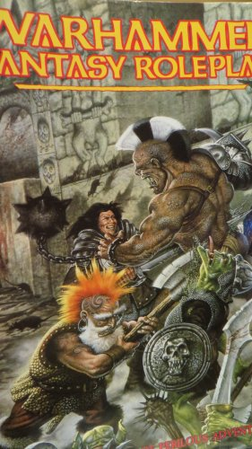 Warhammer Fantasy Roleplay: A Grim World of Perlious Adventure. (Rulebook): Richard Halliwell, Rick...
