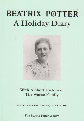 9781869980115: Beatrix Potter: A Holiday Diary : with a Short History of the Warne Family