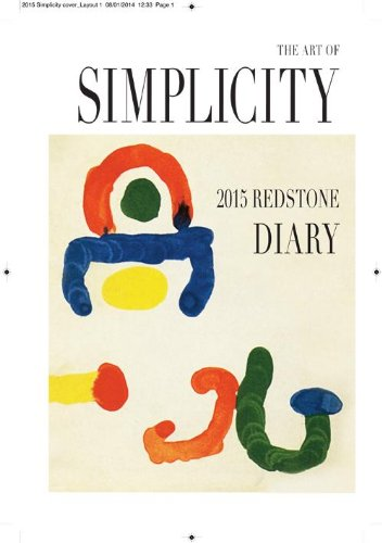 9781870003780: Redstone Diary 2015: The Art Of Simplicity