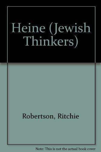 9781870015110: Heine (Jewish Thinkers)