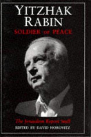 9781870015622: Yitzhak Rabin: Soldier of Peace