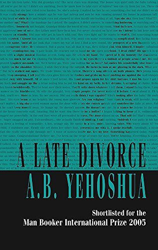 A Late Divorce: A.B. Yehoshua