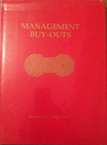 9781870031912: Management Buy-Outs