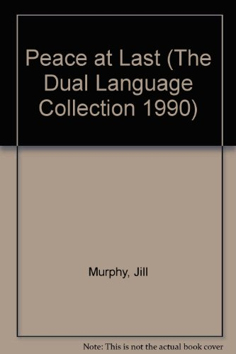 Peace At Last English (The dual language collection 1990) (English and Punjabi Edition) (1870045211) by Murphy, Jill