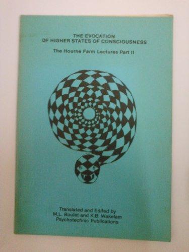 9781870046022: Evocation of Higher States of Consciousness