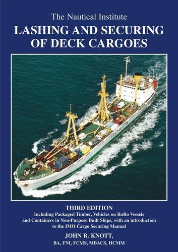9781870077187: Lashing and Securing Deck Cargoes