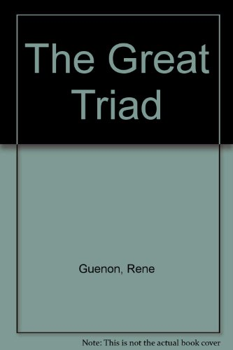 9781870196062: The Great Triad