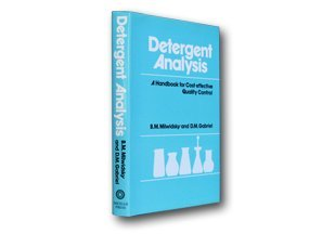 9781870228039: Detergent Analysis: A Handbook for Cost-effective Quality Control