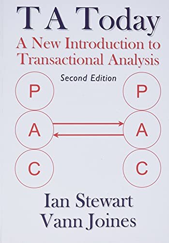 9781870244022: Ta Today: A New Introduction to Transactional Analysis. (Second Edition) Ian Stewart, Vann Joines