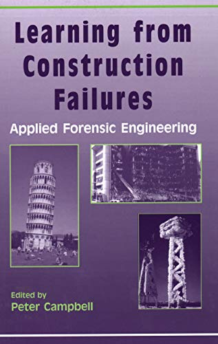 9781870325639: Learning from Construction Failures: Applied Forensic Engineering