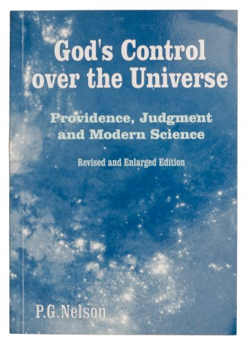 9781870325882: God's control over the universe: Providence and judgment in relation to modern science