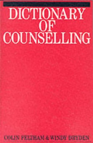 9781870332088: Dictionary of Counselling