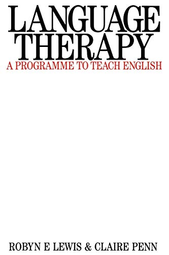 9781870332323: Language Therapy
