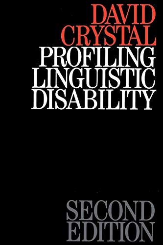 9781870332934: Profiling Linguistic Disability