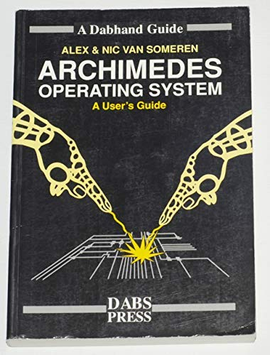 9781870336482: Archimedes Operating System (A Dabhand guide)