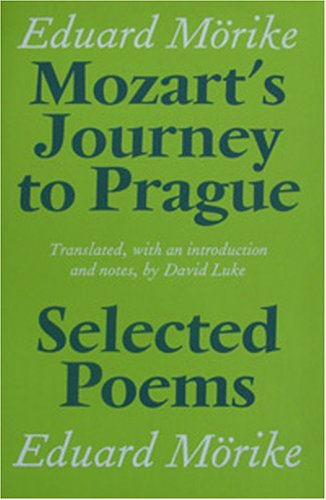9781870352826: Mozart's Journey to Prague and Selected Poems