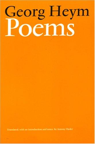 Poems: Georg Heym