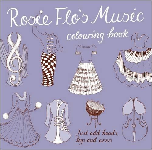9781870375139: Rosie Flo's Music Colouring Book