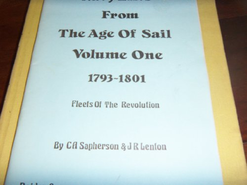9781870445177: Navy lists from the age of sail
